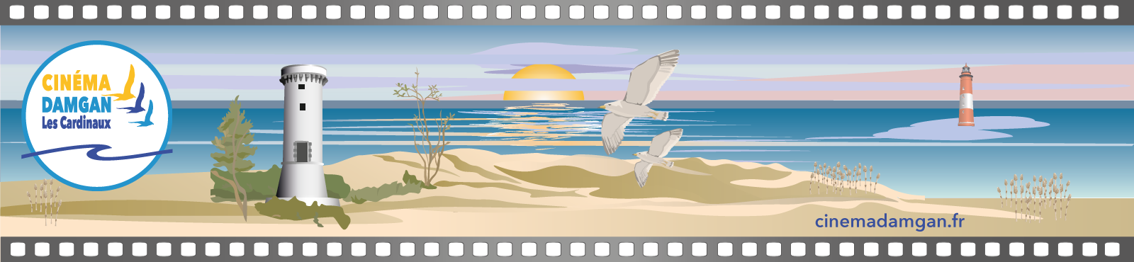 Banniere-logo-cinema-damgan-film-plage-phare-tour